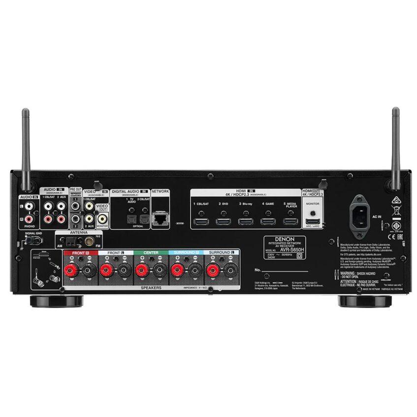 AVR-S650 BACK