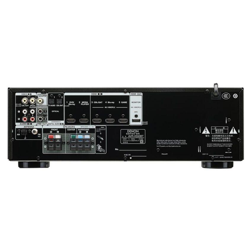 AVR-X550BT REAR