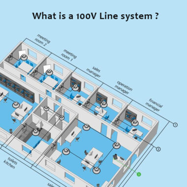What is a 100V Line Audio System ?