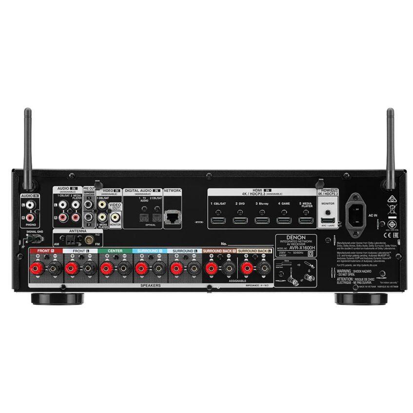 AVR-X1600H BACK