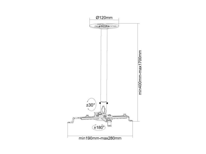 multibrackets ceiling mount(2)