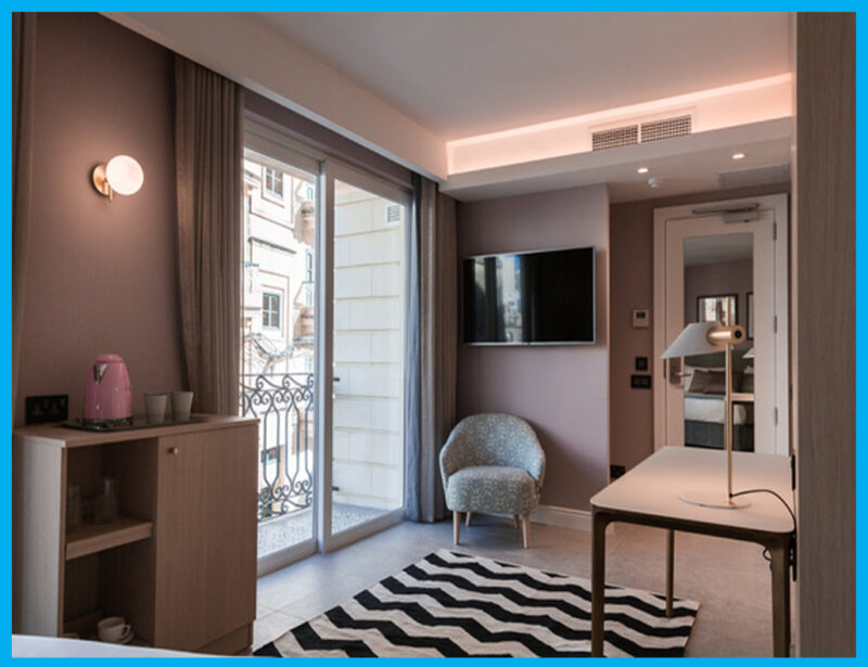 Azur Hotel – Guest room energy Management systems, Wiring Accessories for 180 rooms & Audio Systems