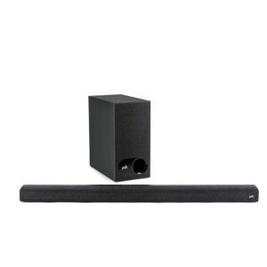 POLK SIGNA S 3 SOUNDBAR WITH CHROME CAST