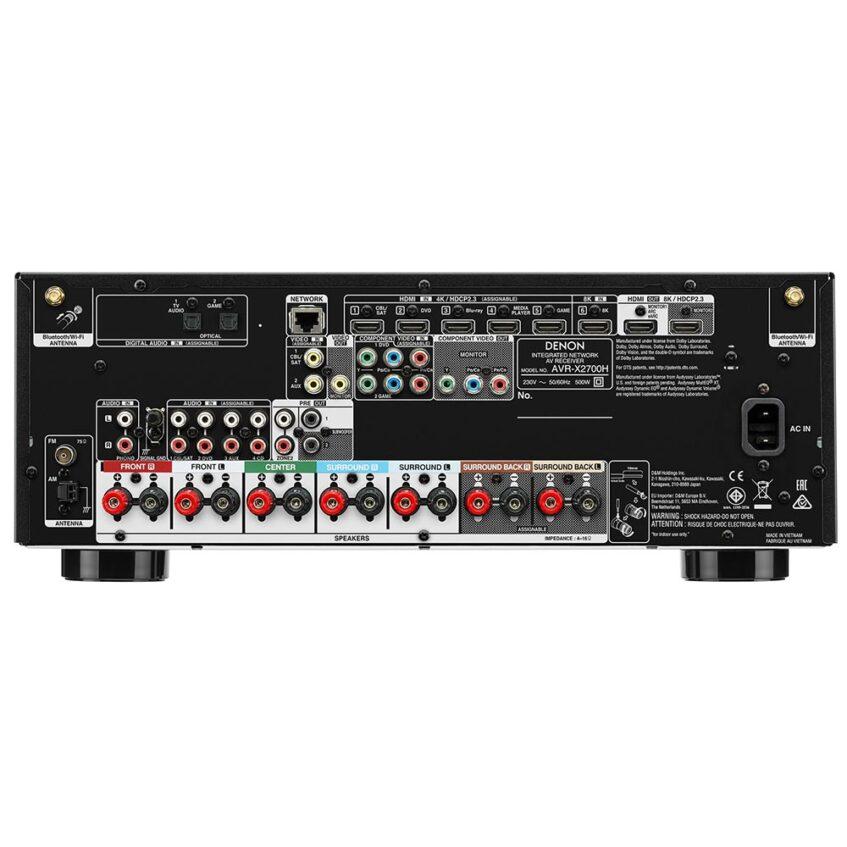 AVR-X2700 BACK