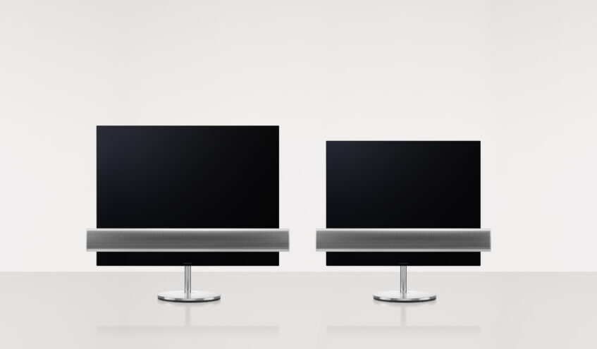 B&O Eclipse side by side 65 and 55″
