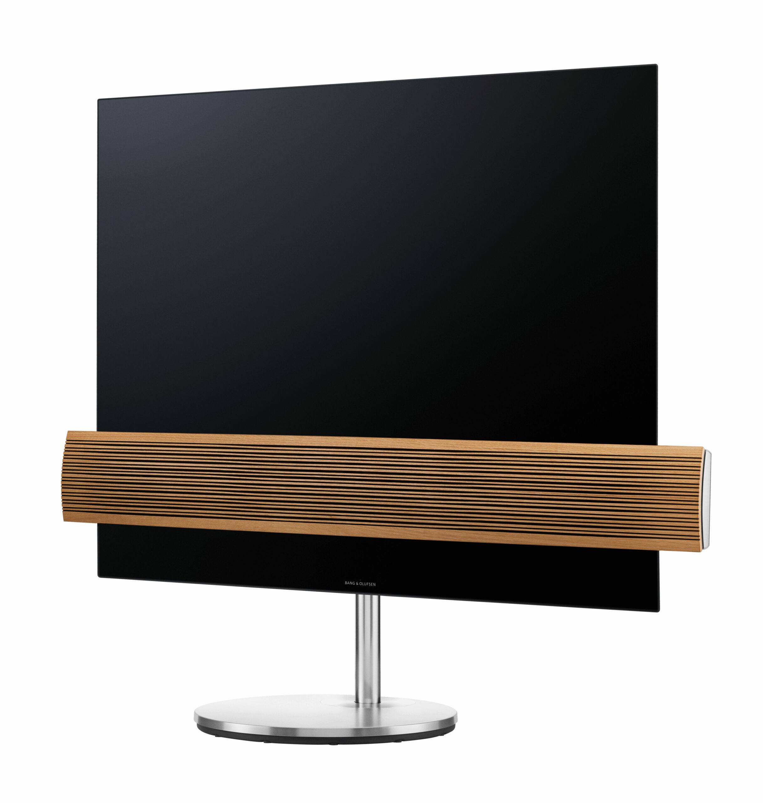 Beovision Eclipse oak cover Motorised floor stand