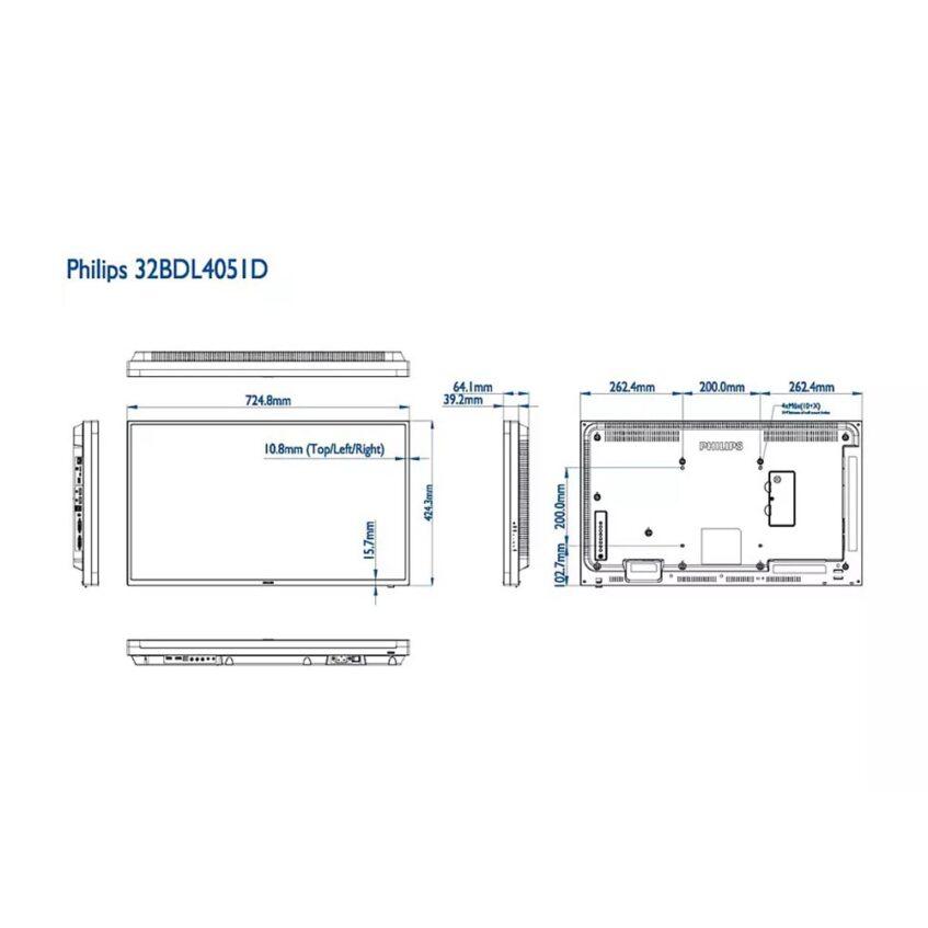 32BDL4051D measurements