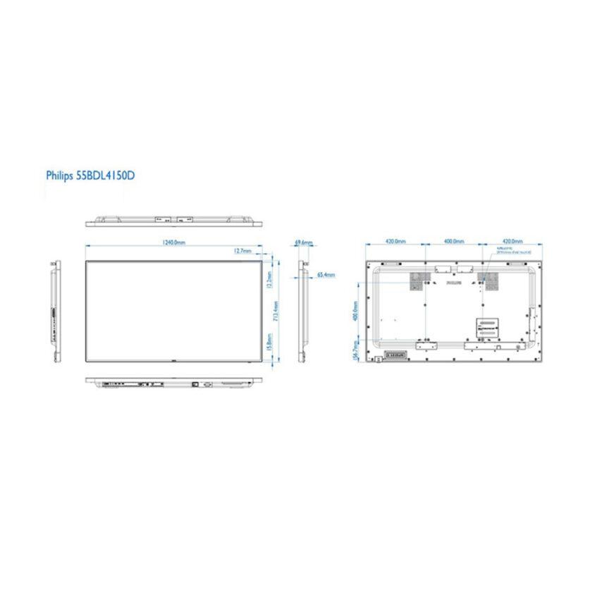 55BDL4150D measurments