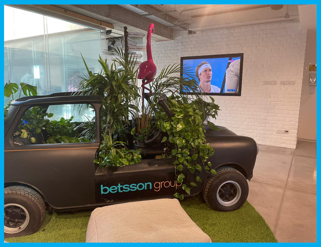 Betsson Signage and Audio systems