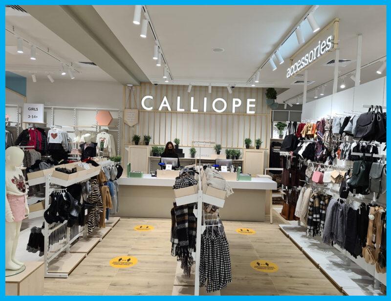 Calliope Store. Commercial audio