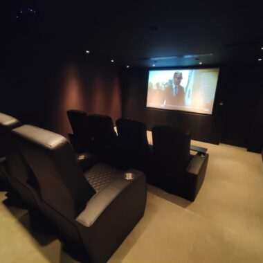 How to Set-up a Home Cinema using in-ceiling speakers