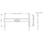 Multibrackets Heavy duty wall mount