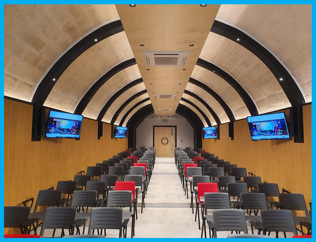 Mapfre Audio-visual, Lighting & Control facilities for Conference Room & Meeting rooms
