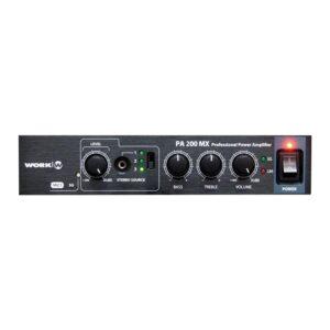 work pro professional amplifier